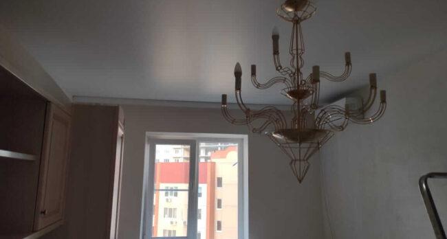 Потолок матовый белый в детскую 15 кв. м.