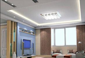 Скидка на освещение при заказе потолка - 20%