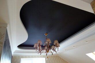 Цветные матовые потолки