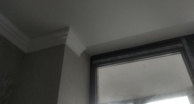 Монтаж натяжных потолков в квартире в жилом комплексе Острова