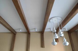 Монтаж матовых натяжных потолков